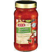 H-E-B Vegetable Primavera Pasta Sauce