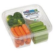 H-E-B Vegetable Snack Tray With Ranch Dip
