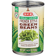 H-E-B Veggi-Green French Style Green Beans