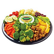 H-E-B Veggie Relish Party Tray, Large, Limit 4
