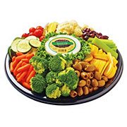 H-E-B Veggie Relish Party Tray, Medium