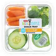 H-E-B Veggies with Ranch Snack Tray