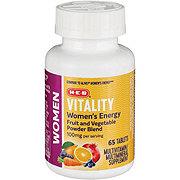 H-E-B Vitality Women's Energy Multivitamin Tablets