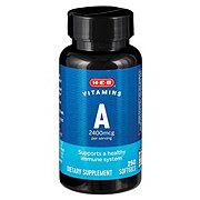 H-E-B Vitamin A 2400 mcg