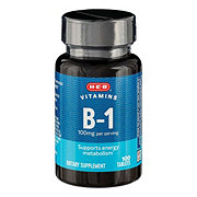 H-E-B Vitamin B-1 Thiamin HCl 100 mg Tablets
