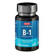 H-E-B Vitamin B-1 Thiamin HCl 100 mg Tablets