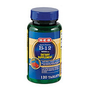 H-E-B Vitamin B12 Quick Dissolve Tablets