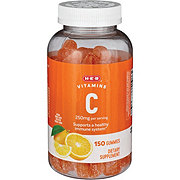 H-E-B Vitamin C 250 mg Adult Gummies