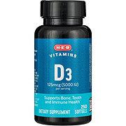 H-E-B Vitamin D3 5000 IU