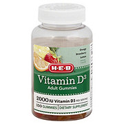 H-E-B Vitamin D3 Adult Gummies