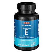 H-E-B Vitamin E 1000 IU Softgels