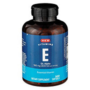 H-E-B Vitamin E 400 iu Softgels