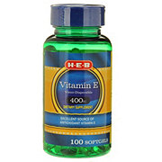H-E-B Vitamin E 400iu Water Dispersible Softgels