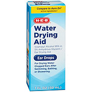 H-E-B Water Drying Aid Ear Drops