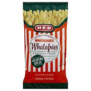 H-E-B Whataburger Whatafries French Fries, Jalapeno Queso