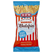 H-E-B Whataburger Whatafries French Fries, Zesty Ranch