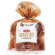H-E-B Wheat Hamburger Buns