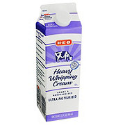 H-E-B Whipping Cream, Heavy