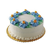 H-E-B White Cake with Buttercream Icing