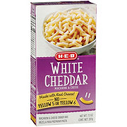 H-E-B White Cheddar Macaroni and Cheese