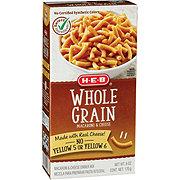 H-E-B Whole Grain Macaroni and Cheese