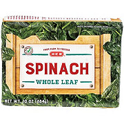 H-E-B Whole Leaf Spinach
