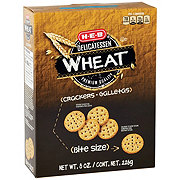 H-E-B Whole Wheat Entertainer Crackers Bite Size
