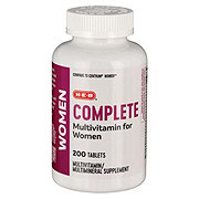 H-E-B Women's Complete Multivitamin/Multimineral Tablets