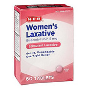 H-E-B Women's Laxative Tablets