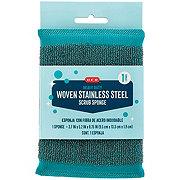 H-E-B Woven Stainless Steel Scrub Sponge