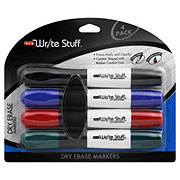 H-E-B Write Stuff Chisel Point Assorted Colors Dry Erase Markers