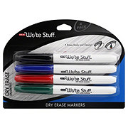 H-E-B Write Stuff Fine Point Assorted Colors Dry Erase Markers