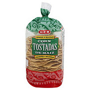 H-E-B Yellow Corn Tostadas