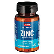H-E-B Zinc 50 mg Caplets
