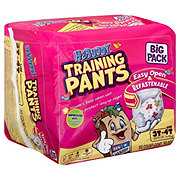 H-E-Buddy Big Pack Training Pants For Girls, 50 ct