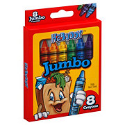 H-E-Buddy Jumbo Crayons