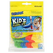 H-E-Buddy Kids Bubblegum Flavor Flossups