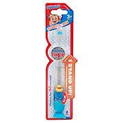 H-E-Buddy Kids Liquid Flashing Timer Soft Stand Up Toothbrush