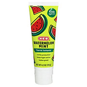 H-E-Buddy Watermelon Mint Cavity Protection Fluoride Toothpaste Gel