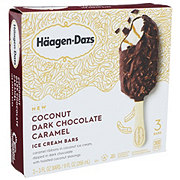 Haagen-Dazs Coconut Dark Chocolate Caramel Bars