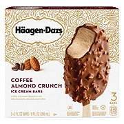 Haagen-Dazs Coffee Almond Crunch Ice Cream Bars