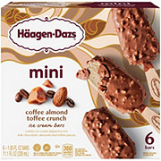 Haagen-Dazs Coffee Almond Crunch Snack Size Ice Cream Bars