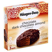 Haagen-Dazs Dark Chocolate Almond Bars