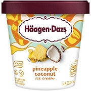 Haagen-Dazs Pineapple Coconut Ice Cream