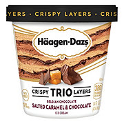 Haagen-Dazs Trio Salt Carmel Chocolate Ice Cream