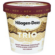 Haagen-Dazs Trio Triple Chocolate Ice Cream