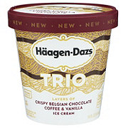 Haagen-Dazs Trio Vanilla Chocolate Coffee Ice Cream