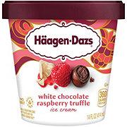 Haagen-Dazs White Chocolate Raspberry Truffle Ice Cream