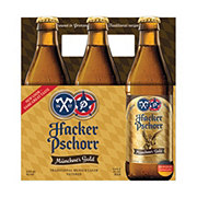 Hacker Pschorr Munich Gold Beer 12 oz Bottles