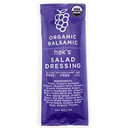 Hak's Organic Balsamic Dressing Single